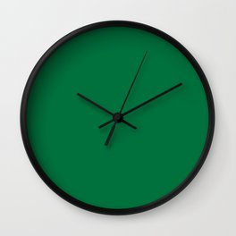 Dartmouth green Wall Clock