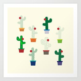 The Cactus! Art Print