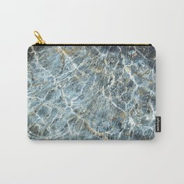 Blue Water Waves Carry-All Pouch