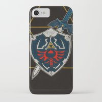 shield iPhone & iPod Cases featuring Shield  by Jennifer Dillon