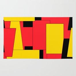 Geometric Pleasing Colors Rug