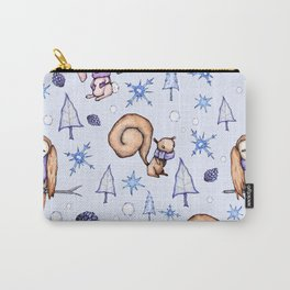 Blizzard Blues Carry-All Pouch