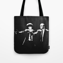 Spike Jet Knock Out - Cowboy Bebop Tote Bag