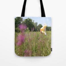 we move lightly Tote Bag