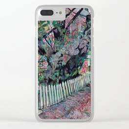 Honorable Yoshiko Cherry Tree Clear iPhone Case