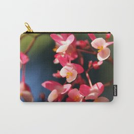 Flower Bokeh Carry-All Pouch