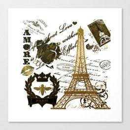 La Tour Eiffel Canvas Print