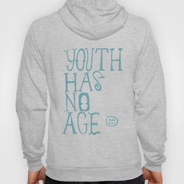 Youth Has No Age (Blue) Hoody