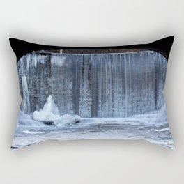 Ice Waterfall Rectangular Pillow