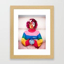 A Bad Case Of Stripes (Cover) Framed Art Print
