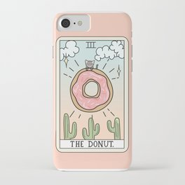 DONUT READING iPhone Case