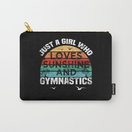 Gymnastics Sunshine Carry-All Pouch