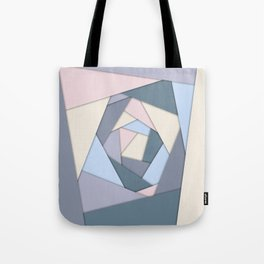 Geometric Layers of Color Tote Bag