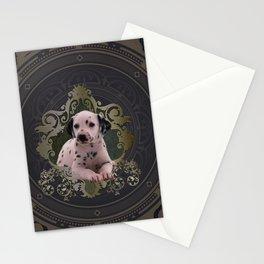 Cute dalmatian Stationery Cards