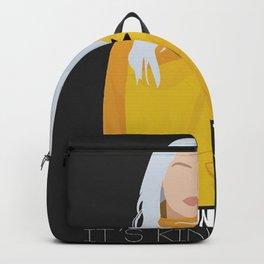Billie Eilish Phrases Backpack