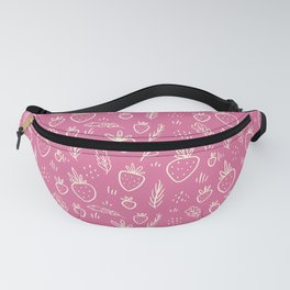 Strawberries in Cream Fanny Pack