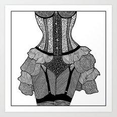 La Femme 02 Art Print