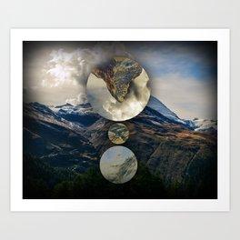 Mountain Language Art Print