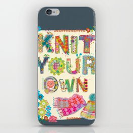 Knit Your Own iPhone Skin