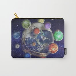 Orbiting Carry-All Pouch