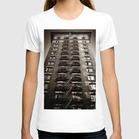 building T-shirts featuring SF Building by Mark Alder
