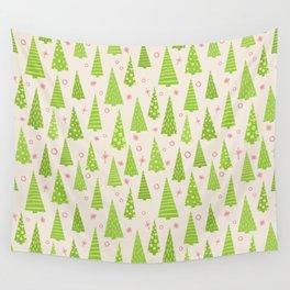 Christmas Tree Wall Tapestry