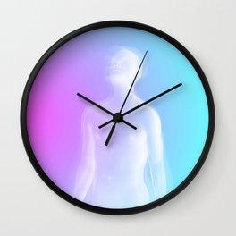 Fade Away and Radiate Wall Clock