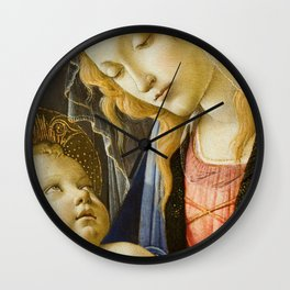 Madonna and Child Renaissance Religious art Wall Clock