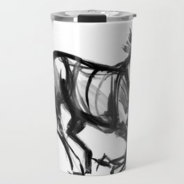 Horse (Far from perfection) Travel Mug