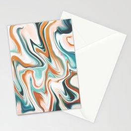 Orange and Botanic Stationery Cards