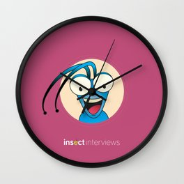 Tony the Beetle Wall Clock
