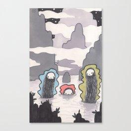 SkullBunny Trilogy: Pt 1 Canvas Print