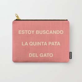 quinta pata Carry-All Pouch