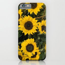Florals at the Shore  iPhone Case