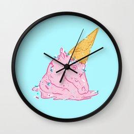 Unicorn melts Wall Clock
