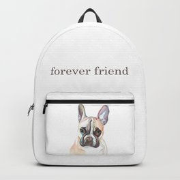 French Bulldog Portrait, Cute Frenchie Dog Backpack