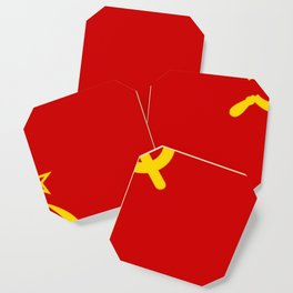 Flag of USSR Coaster