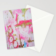 Pink Glam Stationery Cards