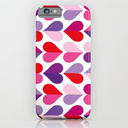 Love and Kisses in Ultra Violet iPhone Case