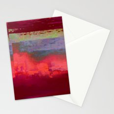 14-42-41 (City Glitch) Stationery Cards