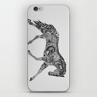 lee pace iPhone & iPod Skins featuring Paisley Pace by Caballos of Colour