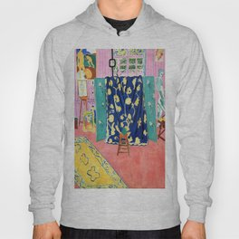 Henri Matisse The Pink Studio Hoody