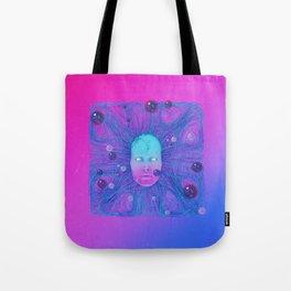 Cybermermaid Tote Bag
