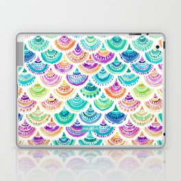 RAINBOW MERMACITA Colorful Mermaid Scales Laptop & iPad Skin