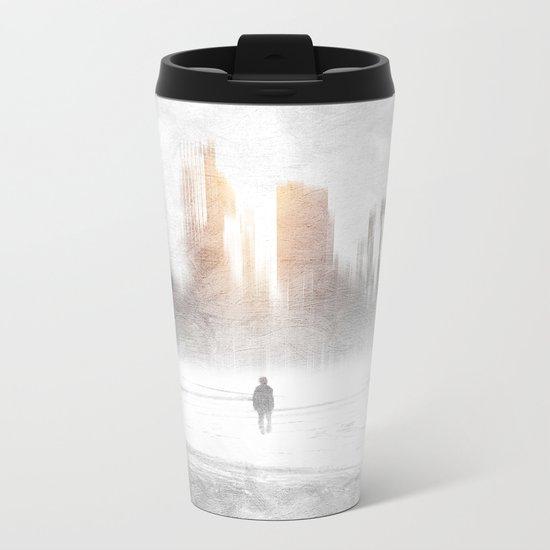 Grey hope Metal Travel Mug
