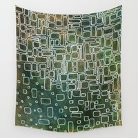mod Wall Tapestries featuring Mod 1 by Andrea Gingerich