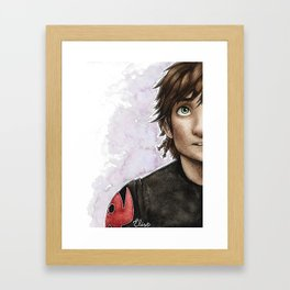 Hiccup Framed Art Print