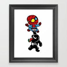super villians are Jerks  Framed Art Print