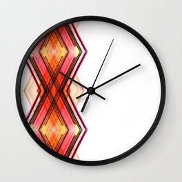 Digital Helix Wall Clock