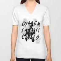 darren criss V-neck T-shirts featuring Darren Criss by kltj11